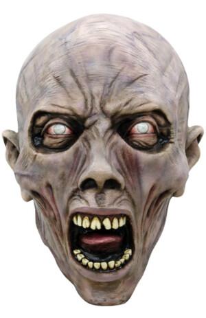 Masker 3/4 schreeuwende zombie -0