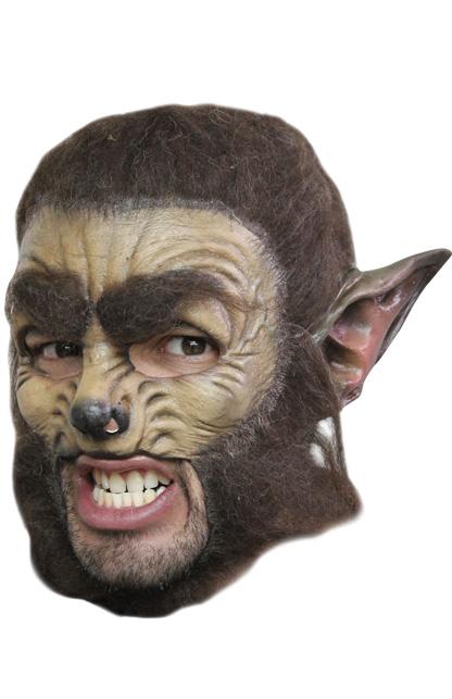 Kinloos masker Wolf deluxe -0
