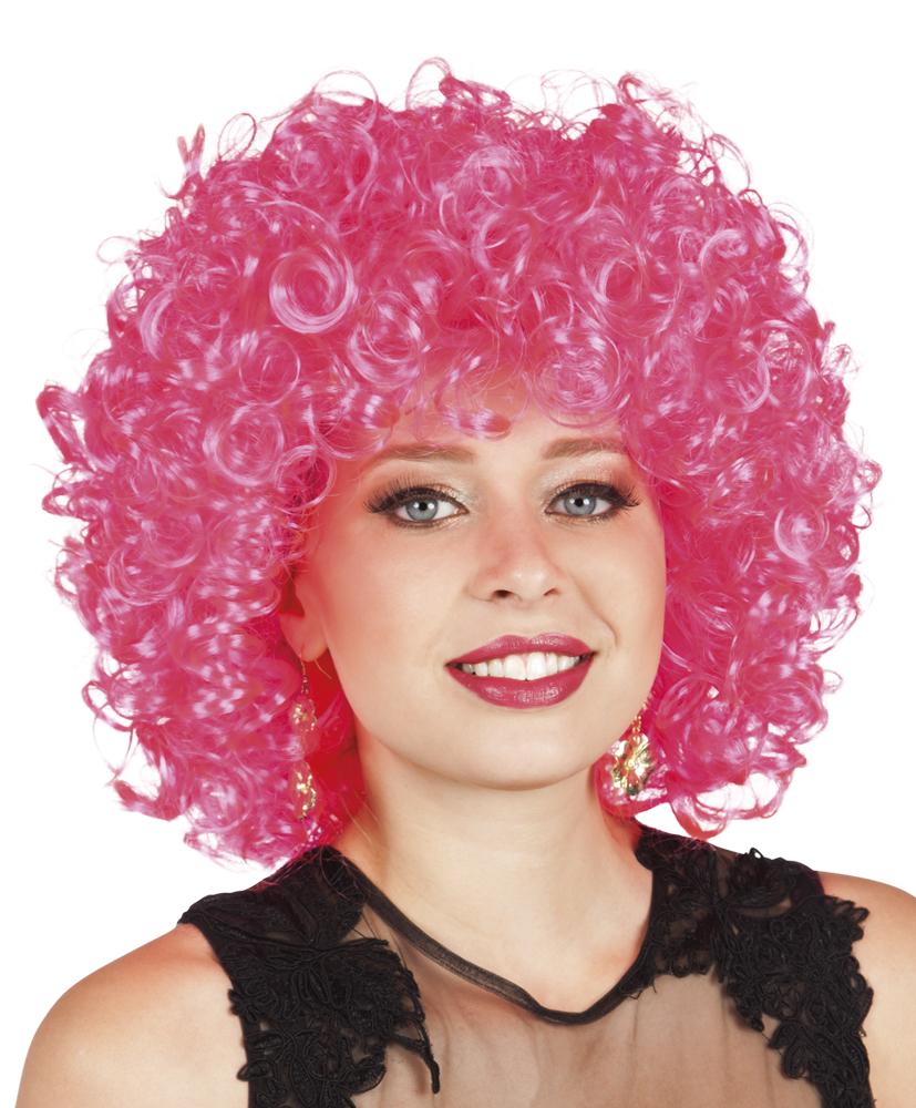 Pruik Candice hot pink-0