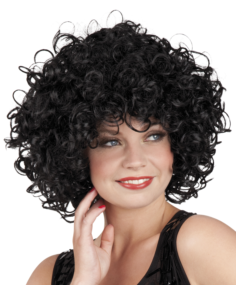 Pruik Candice zwart-0