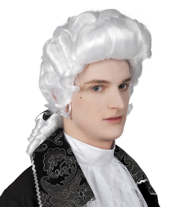 Barok pruik man-0