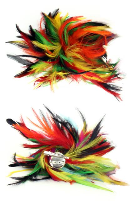 Veren hoofddecoratie bonte kleuren-0