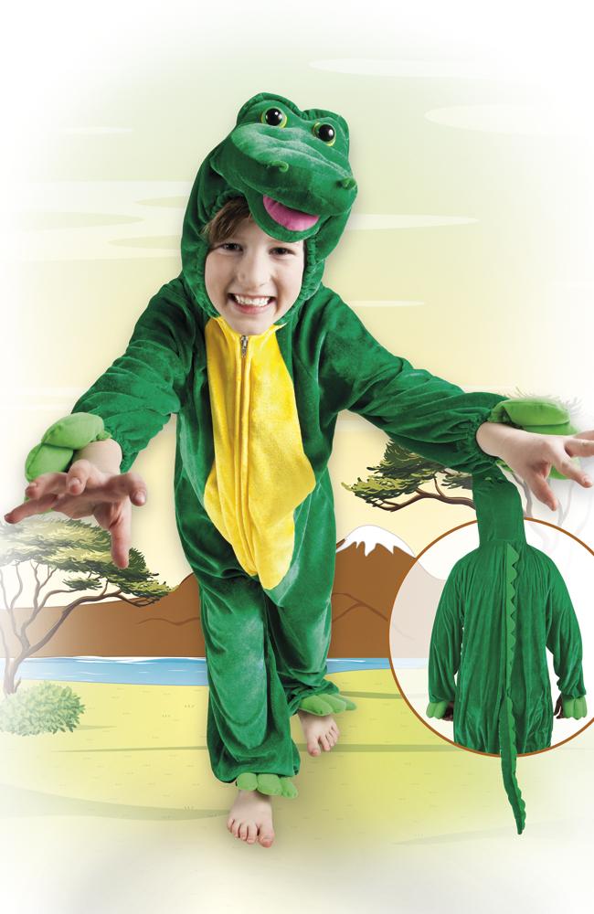 Krokodil kind, jumpsuit-0