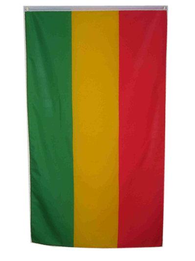 Vlag  rood/geel/groen mt. 90×150-0