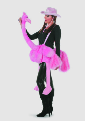 Rose struisvogel-0