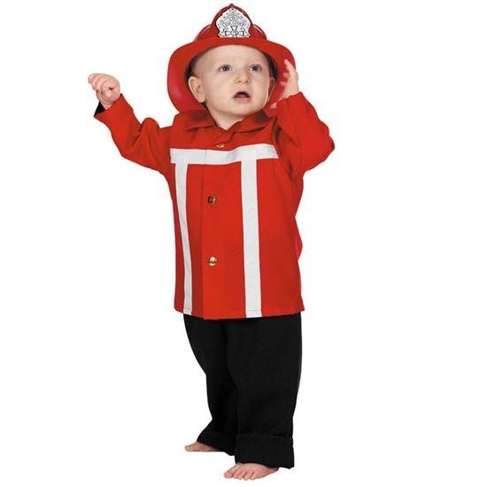 Baby brandweer rood-0