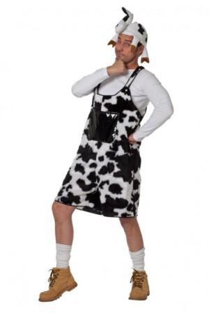 Lederhosen koeienprint