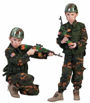 Camouflage leger soldaat-0