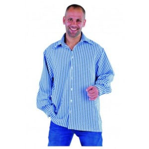 Tiroler blouse brabants bont
