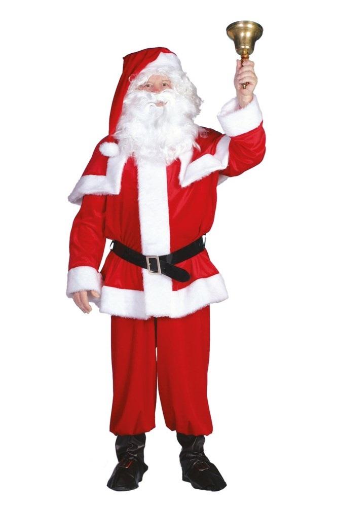 Kerstman fluweel-0