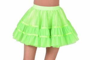 Petticoat kort met brede elastiek-0