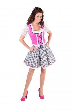 Dirndl Nicky pink Tiroolse oktoberfest-0