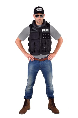 Tactical vest, luxe Police-0
