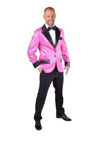 Glitter colbert pink-0