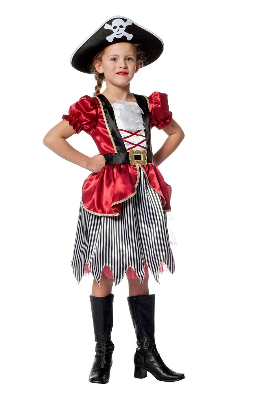 Piratenmeisje bordeaux-0