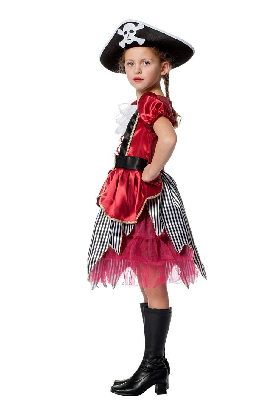 Piratenmeisje bordeaux-226791