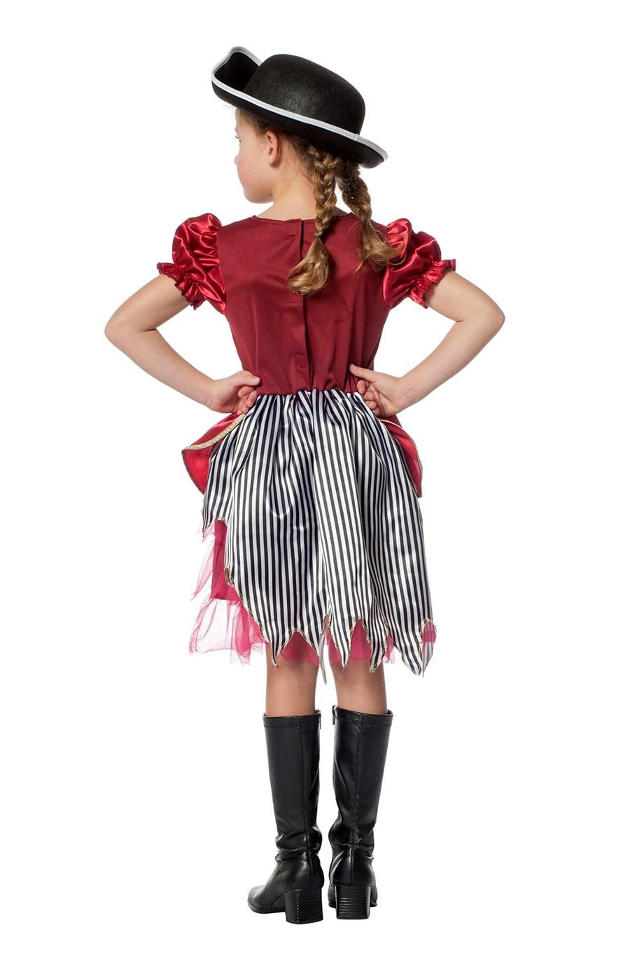 Piratenmeisje bordeaux-226793
