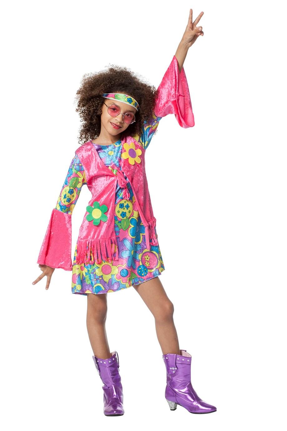 Hippie meisje-0