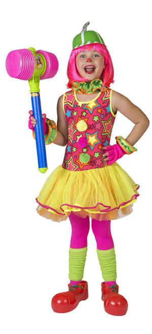 Clown ster sparkling girl-0