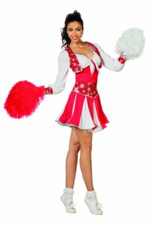 Cheerleader luxe rood-0