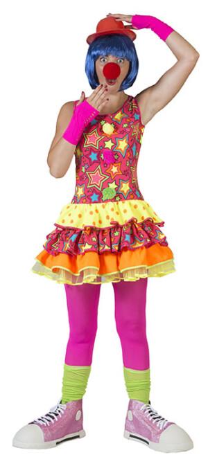 Sprankelende Ster clown dames-0