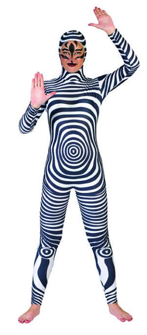 Zebra catsuit-0
