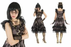 Geweldige steampunk jurk-0