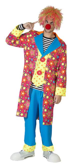 Sprankelende ster clown man-0
