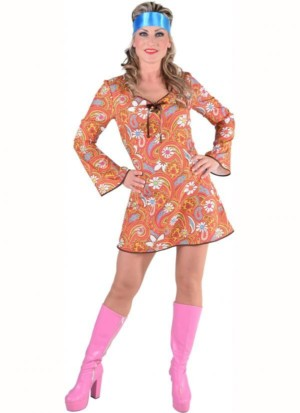 70's basic jurk Paisley-0