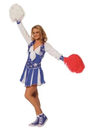 Cheerleader luxe blauw-0