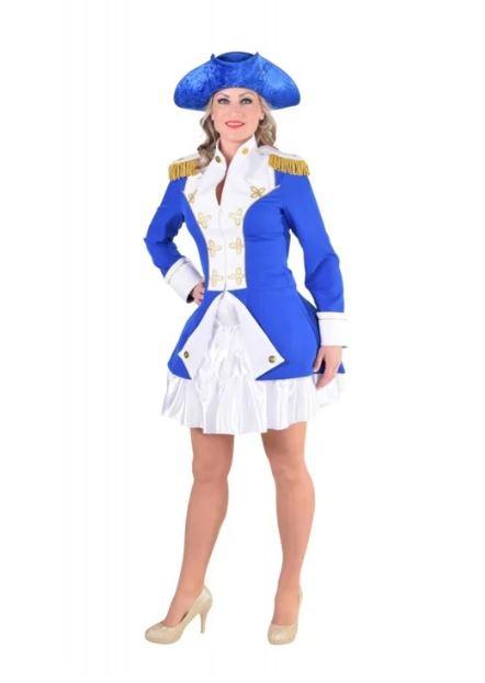 Garde officier blauw-0
