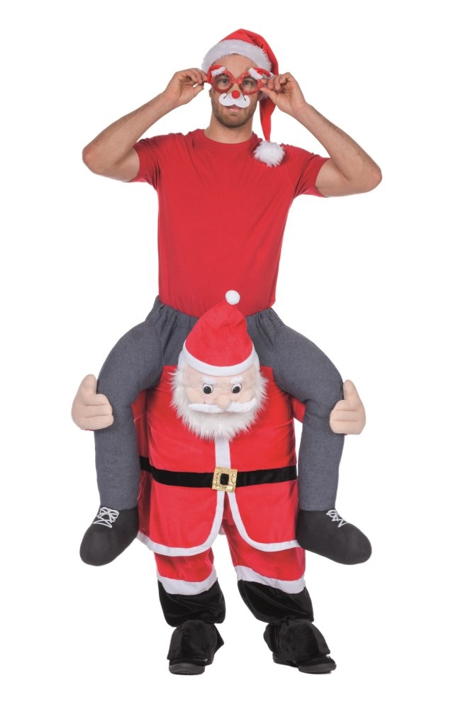 Man op kerstman-0