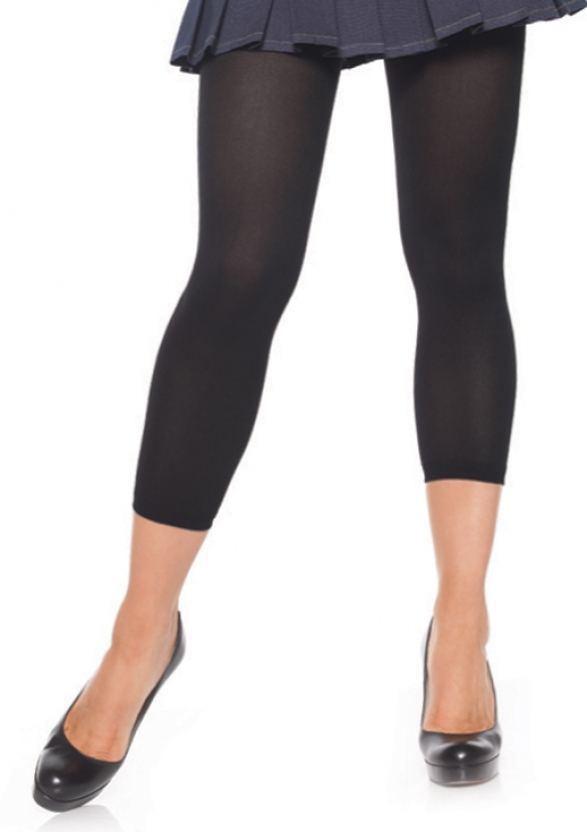 Opaque Footless Tights-0