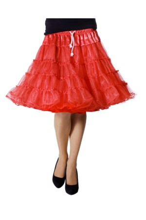 Petticoat luxe rood-0