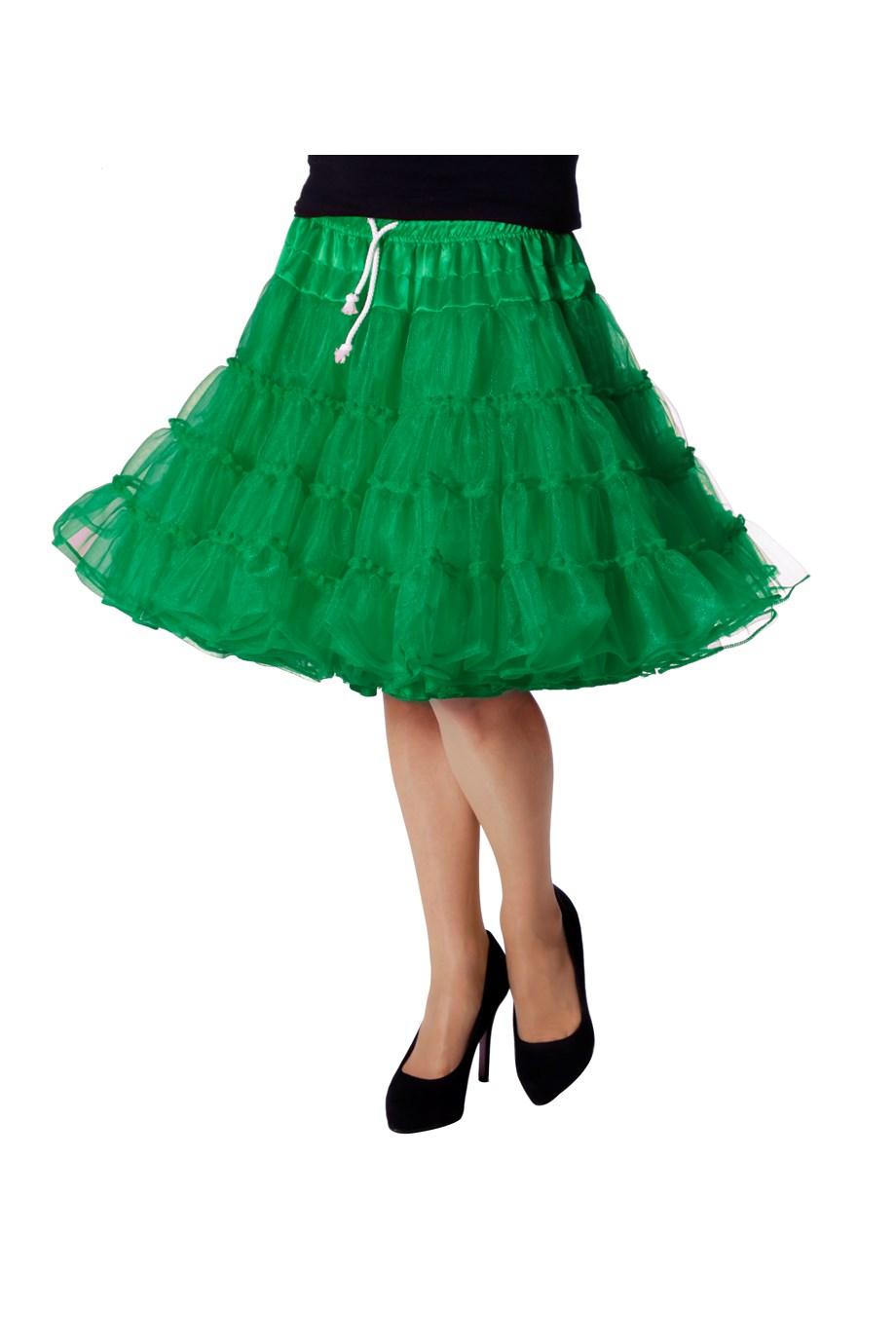 Petticoat luxe groen-0