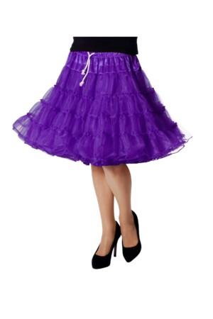 Petticoat luxe paars-0