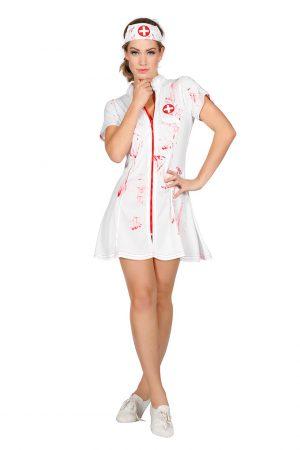 Sexy verpleegster met bloed-0
