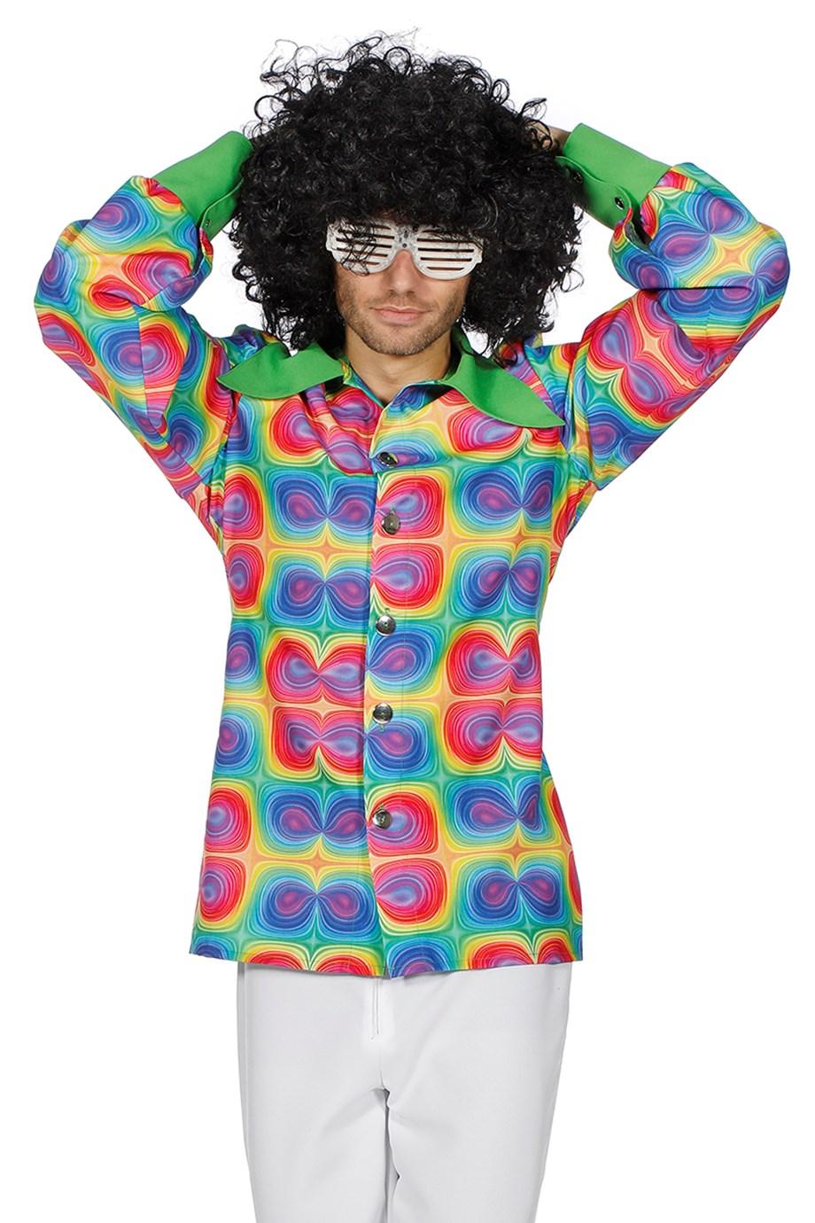 Hemd Psychedelic hippy-0