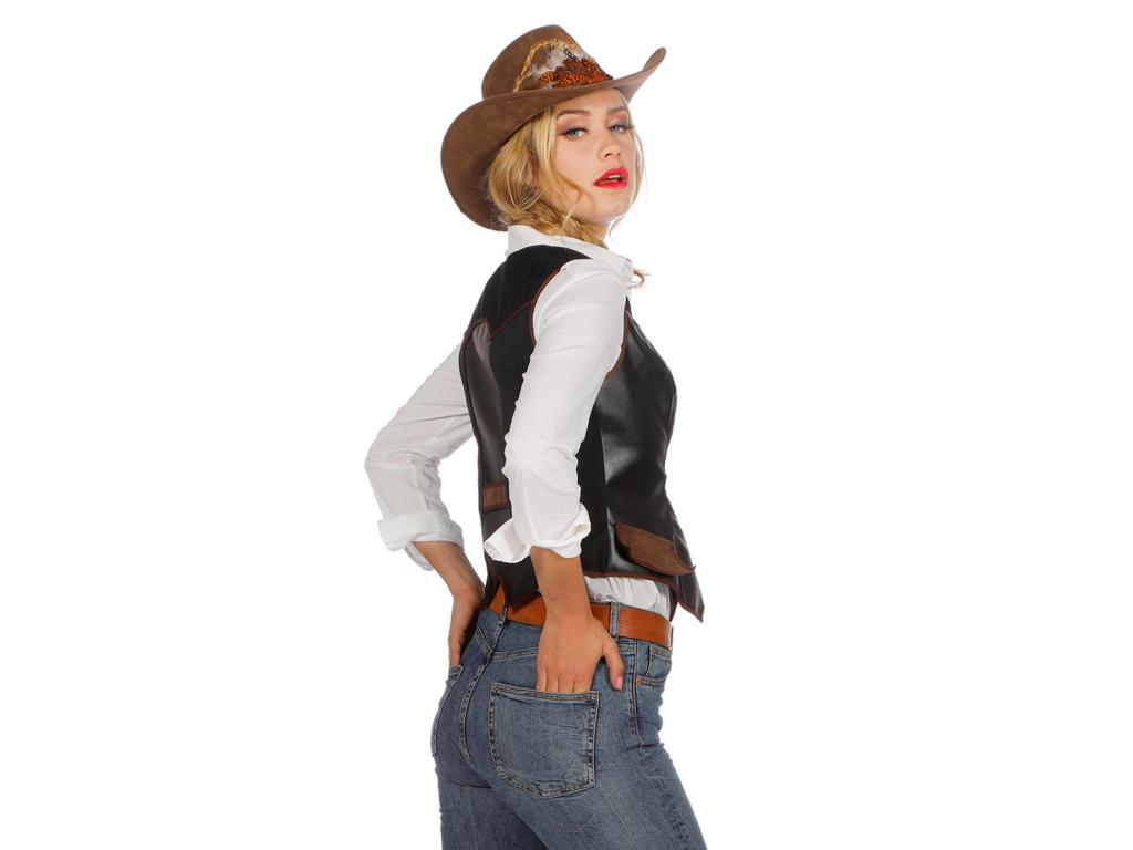 Cowgirl vest luxe-255687
