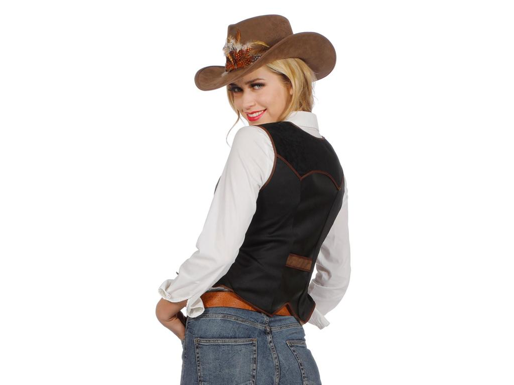 Cowgirl vest luxe-255688