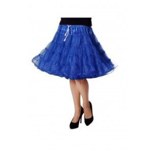 Petticoat luxe blauw-0