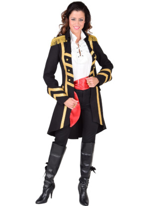 Mantel woollike piraat-0