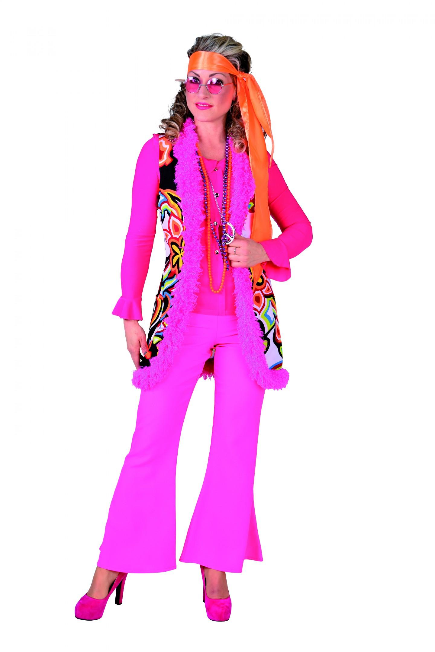 Hippie vest lang fantasy-0