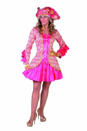 Brocaat Jasje Burlesque pink-0