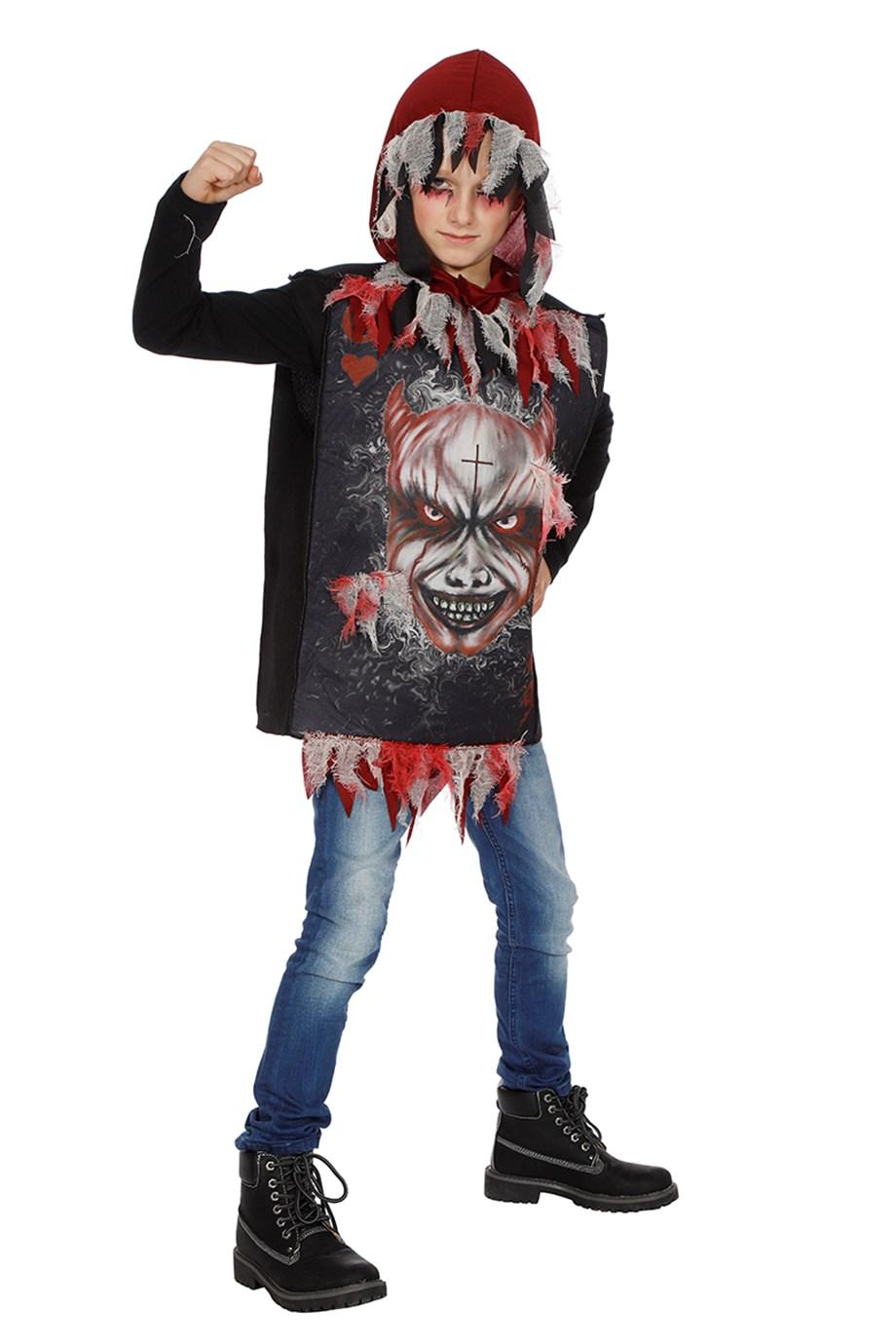 Hoody scary devil-262748