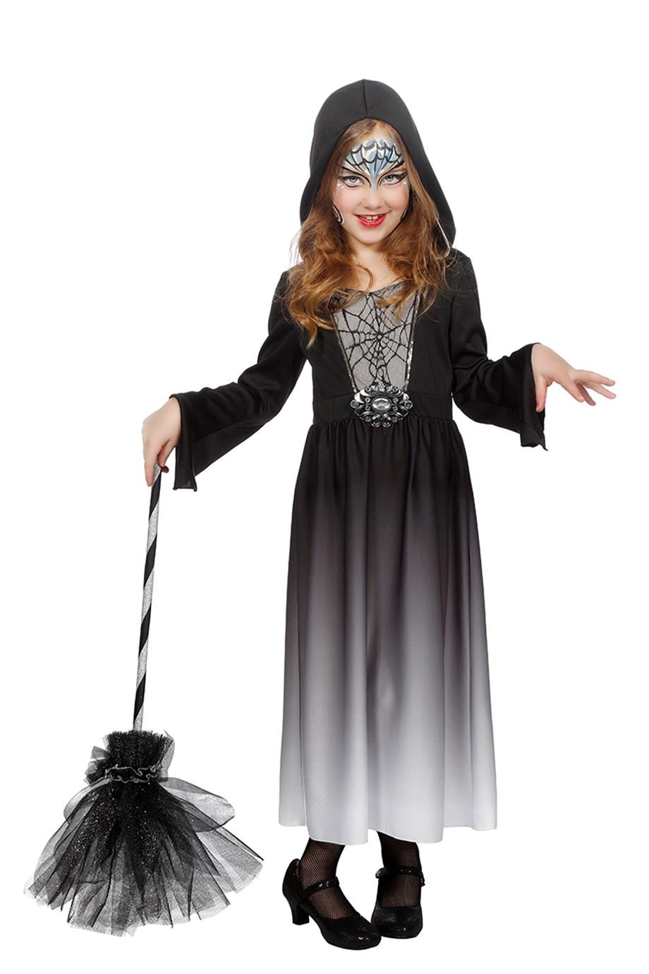Halloween jurk met capuchon-0