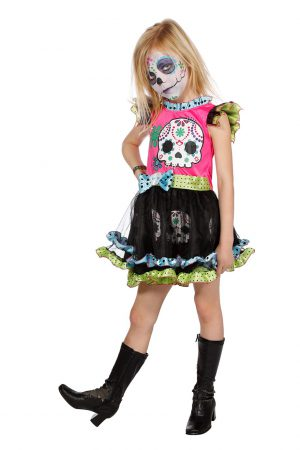 Day of the dead meisje-0