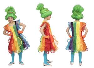 Regenboog jurkje-0