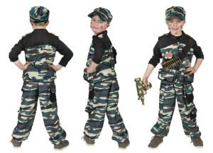 Militair jongen commando -0