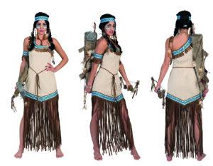 Donderende Teepee vrouw Indiaanse-0